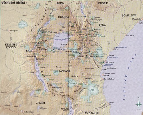 Cestovani Po Africe Vychodni Afrika